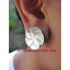 Earring Shells Carving