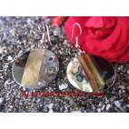 Earring Shells Paua