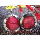 Earrings Coral Shell