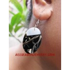 Earrings Paua Seashell