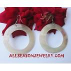Earrings Seashell Natural