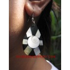 Girls Earrings Seashell