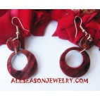 Handmade Earring Seashell