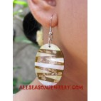 Ladies Earrings Seashell