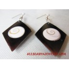 Mother Pearl Shell Earring