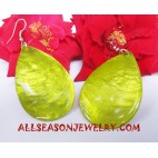 Natural Shell Earrings Handmade