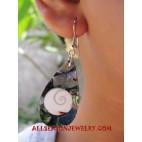 Paua Seashell Earring