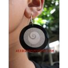 Resin Earring Seashell