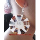 Resin Shell Earring