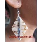 Resin Shells Earring