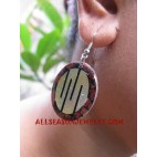 Seashell Coral Earring