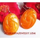 Seashell Earring Carving