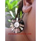 Seashell Earring Pearls