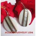 Seashell Earrings Handmade