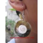 Seashell Pearl Earring