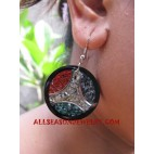 Seashells Coral Earring