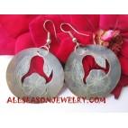 Seashells Earring Carving