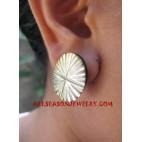 Seashells Earrings Carvings
