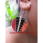 Seashells Earrings Coral