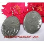 Seashell Earrings Natural