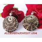 Seashells Earrings Stainless