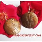 Shell Earrings Carving