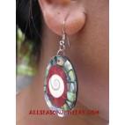 Shell Paua Earring Nautilus