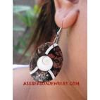 Shell Pearls Earring