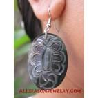 Shells Earrings Carvings