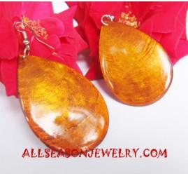 Shells Earrings Natural