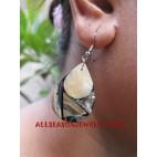 Shells Earrings Paua Handmade Bali
