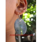 Stone Resin Earring