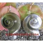 Carvings Earrings Silver