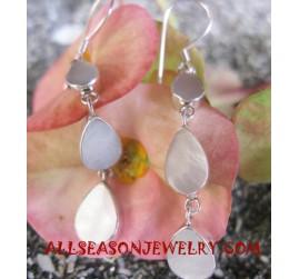 Earring Seashells Natural