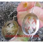 Earring Silver Carvings