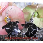 Earrings Seashells Silver