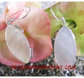 Earrings Silvers Natural