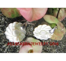 Seashell Silvers Earrings