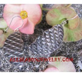 Shells Silver Earrings