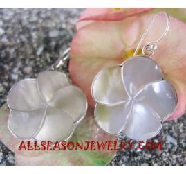 Silver Earring Shell