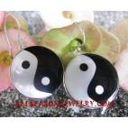 Silver Earrings Seashell