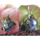 Turtle Earring Silver