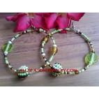 Bali Beads Earring Fashion