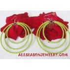 Beads Hoops Earring