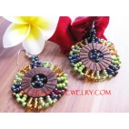 beaded earrings Fashion