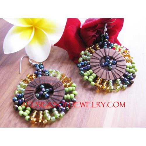 beaded earrings Fashion