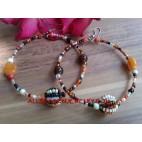 Hoop Beads Earring Ladies