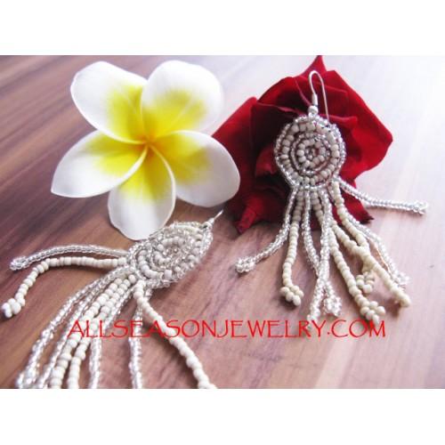 Seed Beads Earring