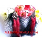 Bird Feather Earring
