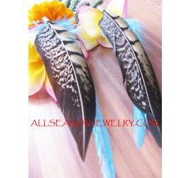 Fancy Feather Earrings
